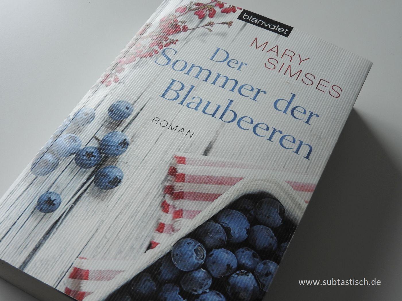Mary Simses Sommer der Blaubeeren