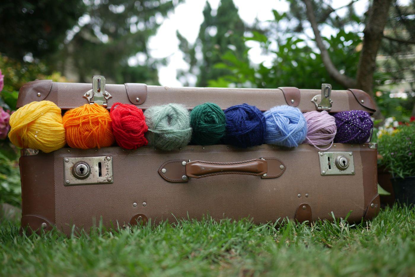Ein Koffer Voll Wolle
