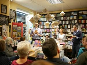 Der Louisoder Verlag in der Buchhandlung Friebe