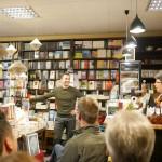 Sebastian Guggolz in der Buchhandlung Friebe